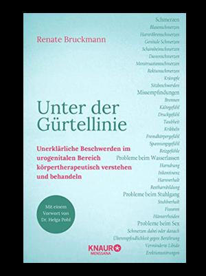 """Buchtitel """"Unter der Gürtellinie"""" Renate Bruckmann"""