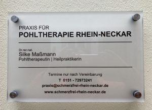 Appointment Pohltherapy Heidelberg - Pain treatment Mannheim Ludwigshafen Darmstadt Frankfurt Odenwald Karlsruhe Schwarzwald